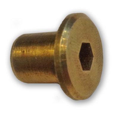 Brass Nut (Inbus)