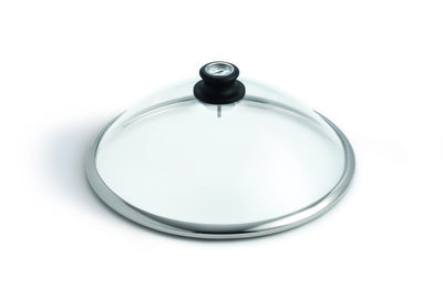 lid of glass with thermometer for Lotus Grill Classic