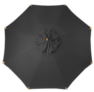 Umbrella cloth Cortina black